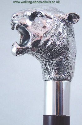 Silver Tiger Collector S Walking Cane Scotties Walking